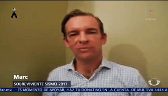 Marc Gracias Rescatistas Sobreviviente Terremoto