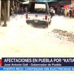 Más de 100 albergues en Puebla recibieron a personas evacuadas