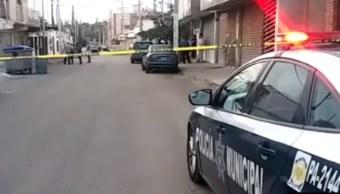 Policia de Chihuahua acordona zona donde ocurrio tiroteo