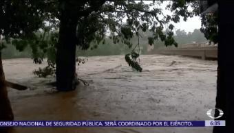 Max Tocó Tierra 4 Pm Huracán Categoría 1 Costas De Guerrero