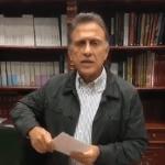 Miguel Ángel Yunes, gobernador de Veracruz, rinde informe tras sismo