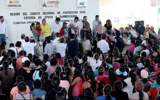 Despliegan brigadas sanitarias en Oaxaca y Chiapas