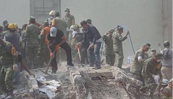Sedena despliega más de ocho mil militares tras sismo de magnitud 7.1
