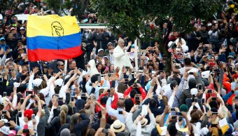 Papa Francisco pide no perder esperanza Colombia