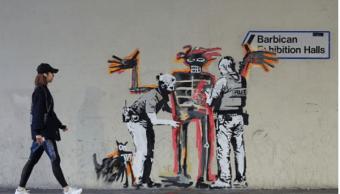Bansky confirmó la autoría de los murales en su cuenta de Instagram.