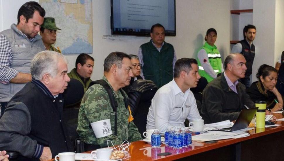 Alejandro Murat y secretario Rovirosa recorren municipios afectados por sismo en Oaxaca
