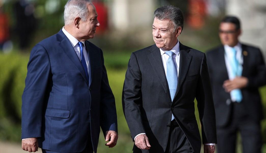 Netanyahu aterriza Bogotá hacer breve visita Colombia