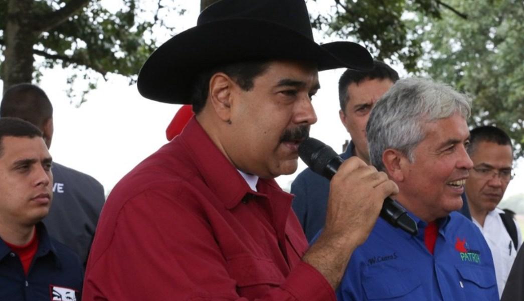 Maduro considera 'groseras e intervencionistas' declaraciones de Rajoy sobre Venezuela