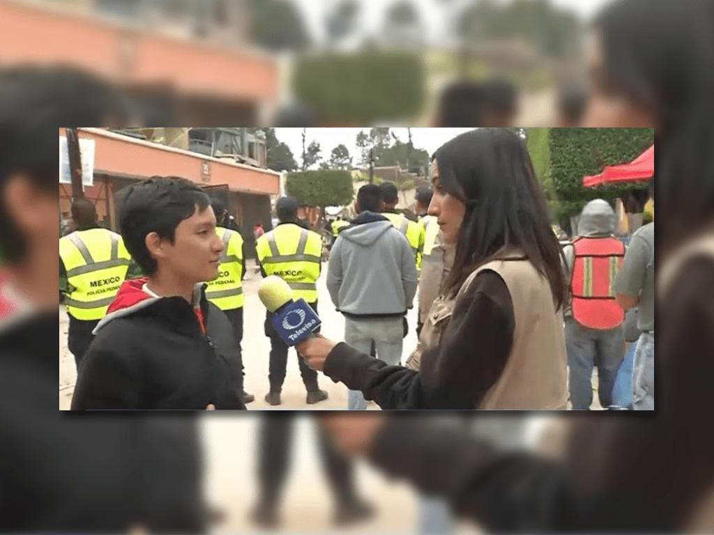 Fallece en sismo hijo de productor del programa Hoy