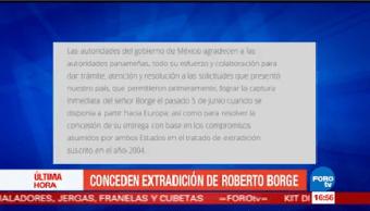 Panamá Avala Extradición Roberto Borge México