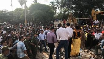 Peña Nieto evalúa daños por sismo en Juchitán Oaxaca