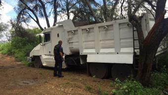 PF recupera vehículos utilizados para traslado de combustible