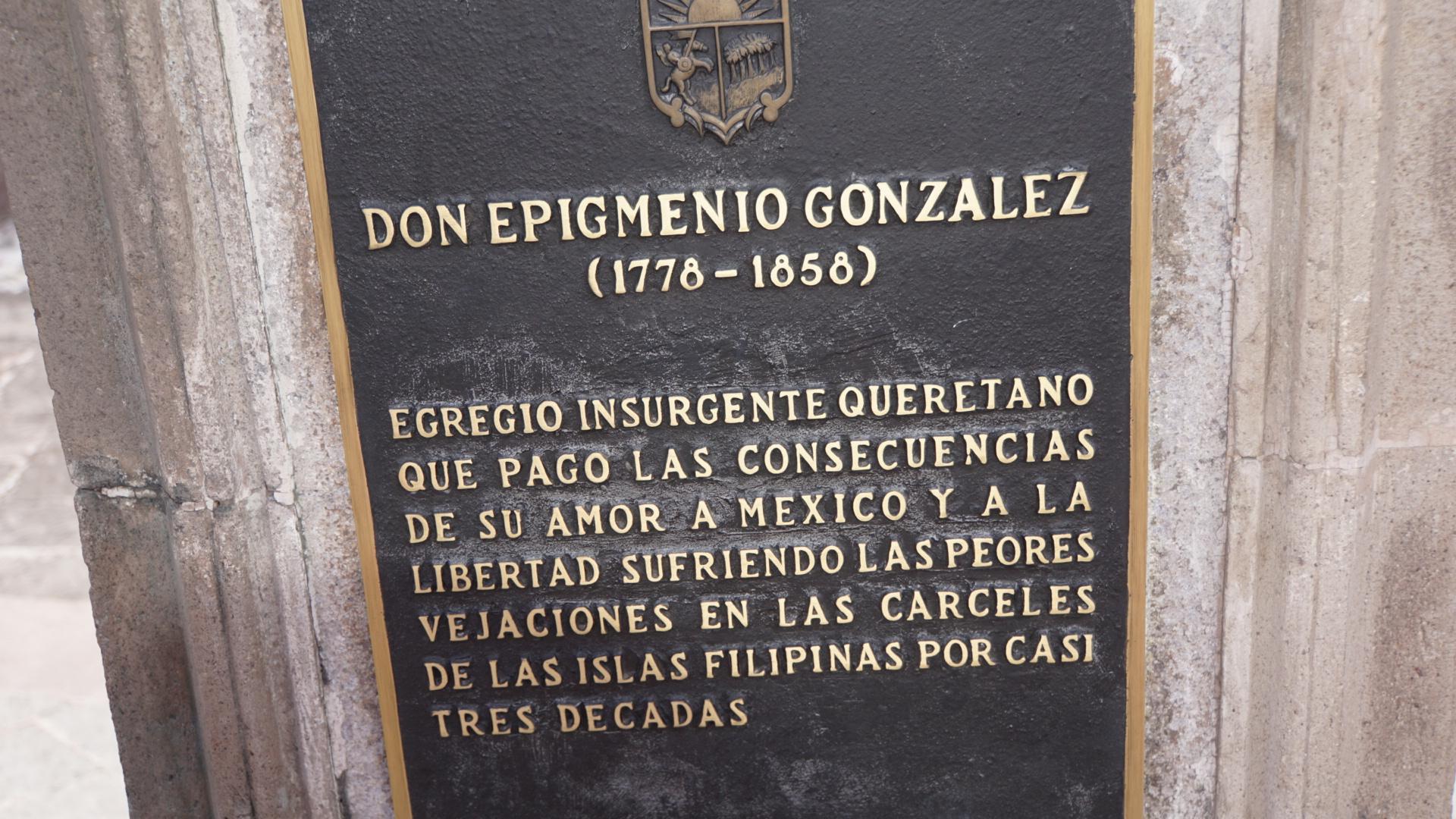 Epigmenio González Biografía Independencia México