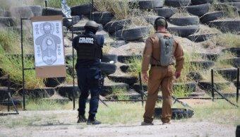 Policía de Sonora recibe entrenamiento del SWAT de Arizona