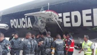 Policía Federal reforzará seguridad en municipios de Oaxaca