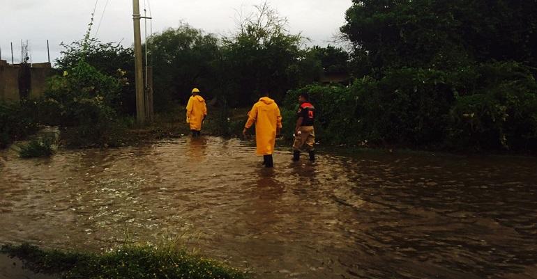 El Ejército activa plan de contigencia en Guerrero; hay 436 viviendas inundadas