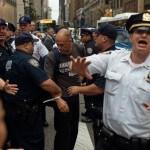Inmigrantes protestan Trump durante asamblea ONU