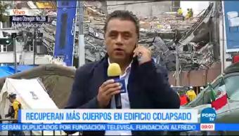 Recuperan Cuerpo Edificio Colapsado Álvaro Obregón