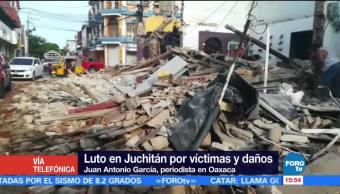 Réplica Sismo Provoca Temor Habitantes Juchitán