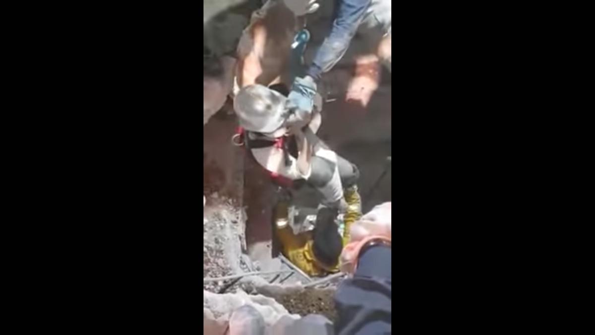Gente Rescatada, Rescatistas, Brigadistas, Derrumbe, Sismo, CDMX