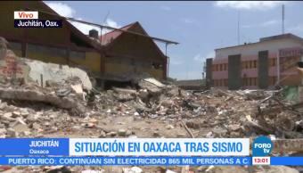 Rescatan Cuerpo Policía Sepultado Palacio Municipal Juchitán