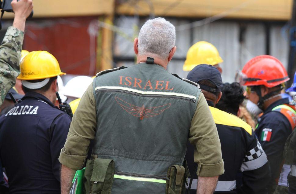 Los equipos de rescate de Israel se unieron a las labores en la CDMX.