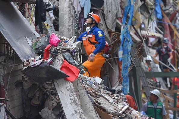México reporta muerte nueve extranjeros por terremoto 7,1 grados Richter