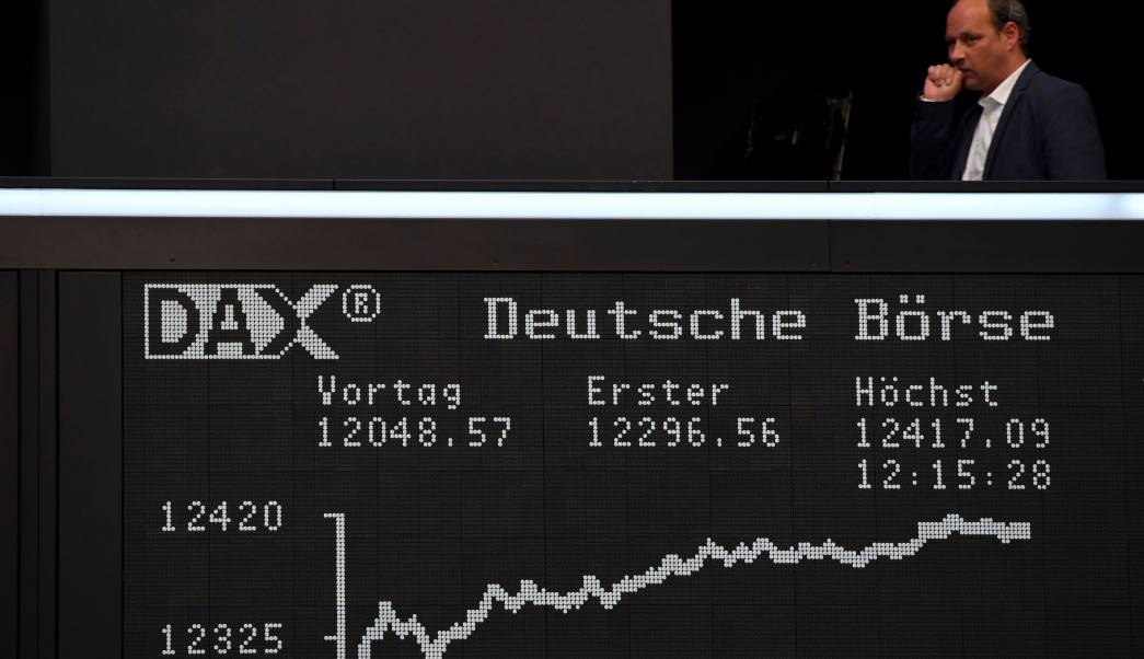 Resultados del índice Dax de Frankfurt