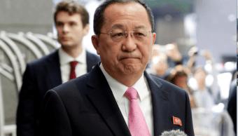 Ri Yong Ho, ministro norcoreano de Exteriores