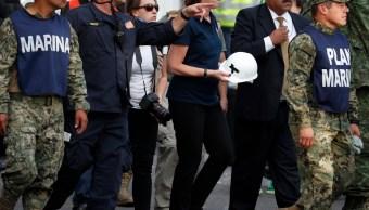 Embajadora Estados Unidos México vista rescatistas Roma