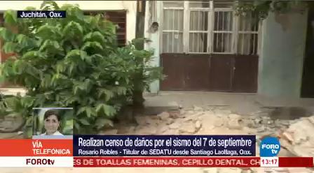 Rosario Robles Recorre Municipios Istmo Oaxaqueño Evaluar Sismo