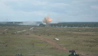 Rusia y Bielorrusia realizaron maniobras conjuntas