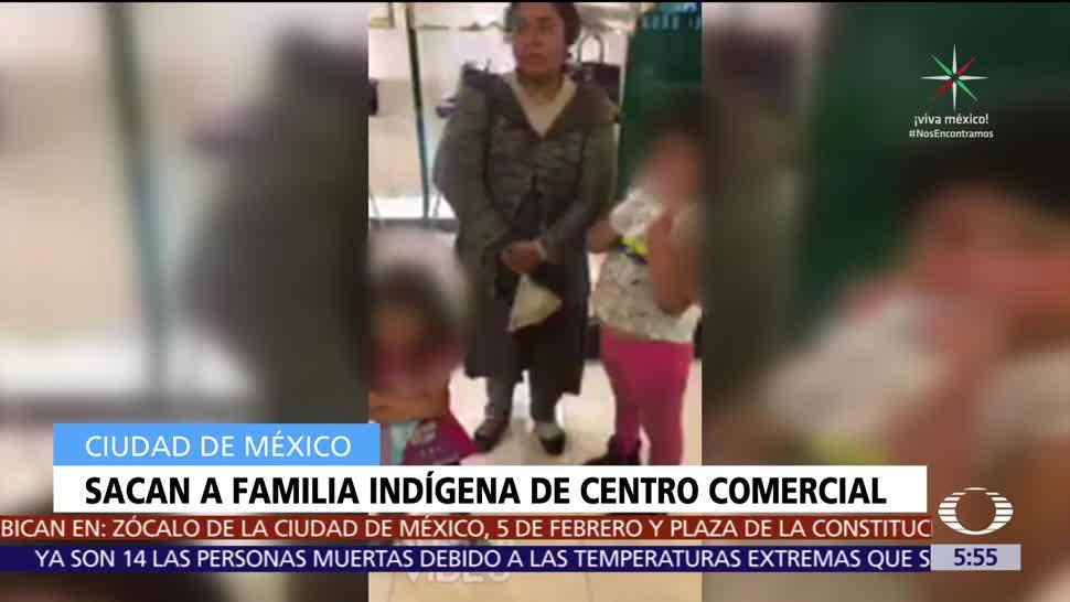 Sacan Familia Indígena Centro comercial
