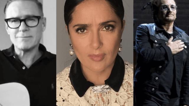 Bono Salma Hayek Bryan Adams solidarizan victimas sismo