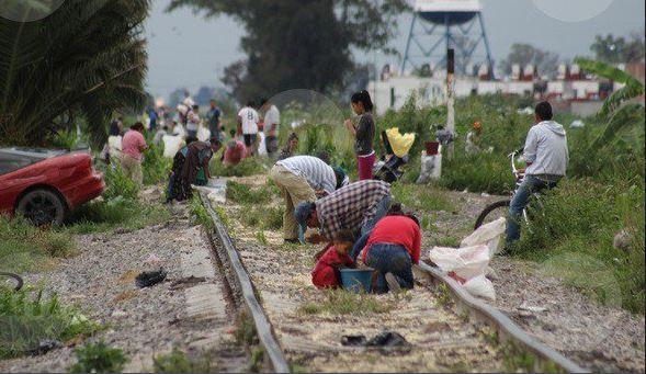 investigan banda dedicada saqueo trenes puebla