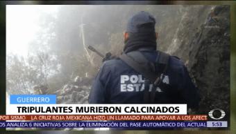 Desploma Avioneta Guerrero Mueren Dos Personas
