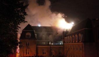 Se incendia la embajada de Ecuador en Estados Unidos por corto circuito