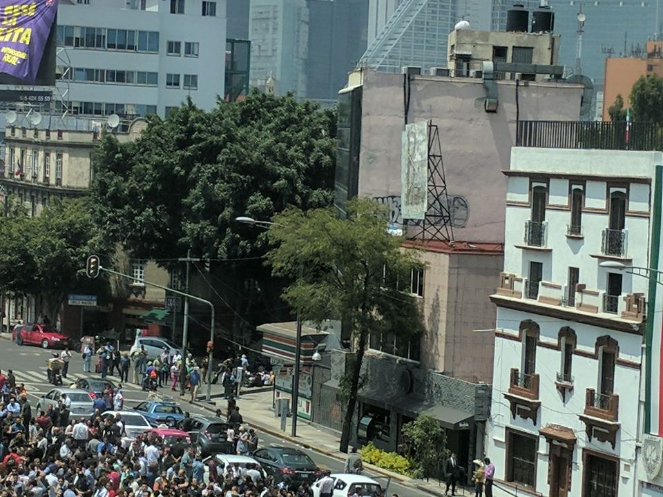 se registra sismo en la ciudad de mexico
