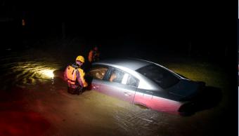 Severas inundaciones deja Irma en Puerto Rico