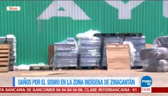 Siguen Llegando Víveres Damnificados Sismo Chiapas