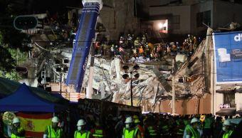 siguen trabajos de rescate en alvaro obregon 286