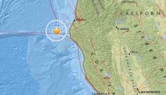 Sismo magnitud sacude California Estados Unidos