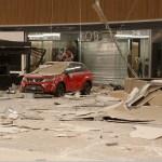 sismo provoca daños en un centro comercial de chiapas