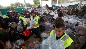 Morelos garantiza que ayuda humanitaria llegara damnificados sismo