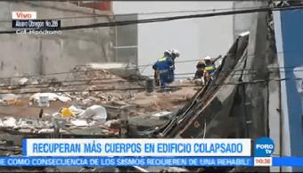 Suman 30 Cuerpos Recuperados Edificio Colapsado Álvaro Obregón