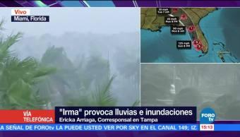Tampa Florida Espera Llegada Huracán Irma