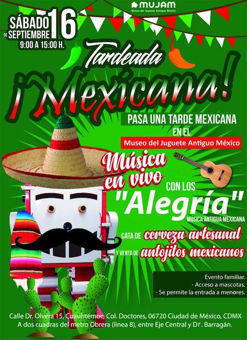 Tardeada mexicana en el MUJAM