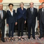 Theresa May se reune lideres opositores Venezuela