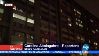 Tlaltelolco sin incidentes tras sismo en la CDMX