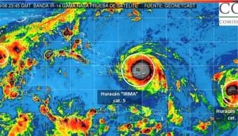 insolito tres huracanes impactan oceano atlantico
